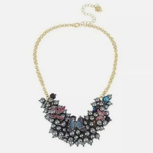 Nwt- Betsey Johnson full frontal butterfly beads